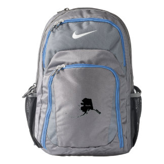 Alaska Map Backpack