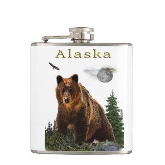 Alaska merchandise hip flask
