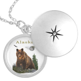 Alaska merchandise locket necklace