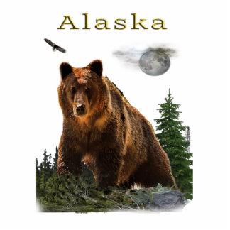 Alaska merchandise photo sculpture key ring