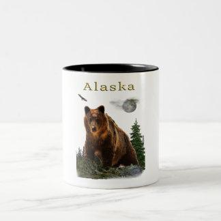 Alaska merchandise Two-Tone coffee mug
