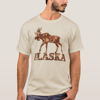 Alaska Moose Tshirt