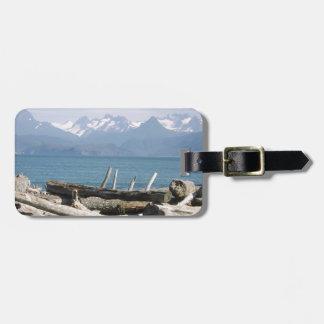 Alaska Mountain Scenery Luggage Tag