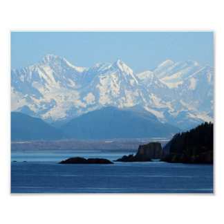 Alaska Mountains 552 Poster