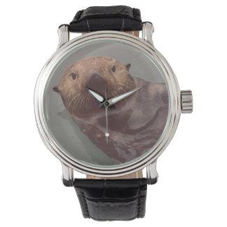 Alaska Otter Photo Designed Elegant Watch