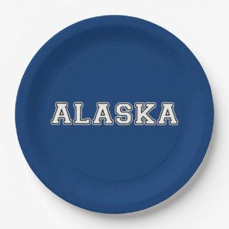 Alaska Paper Plate