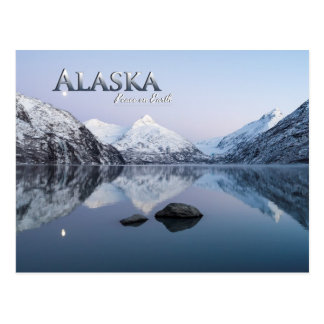 Alaska Peace on Earth Postcard