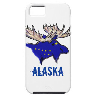 Alaska pride state flag elk artistic iphone case
