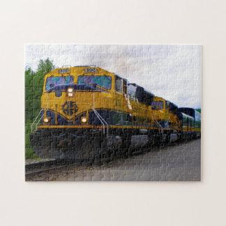 Alaska Railcar. Jigsaw Puzzle
