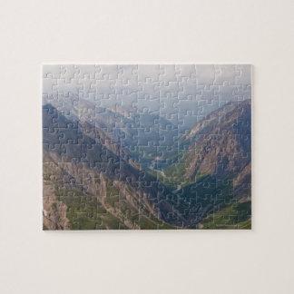 Alaska Range Mountains, Alaska, USA Jigsaw Puzzles