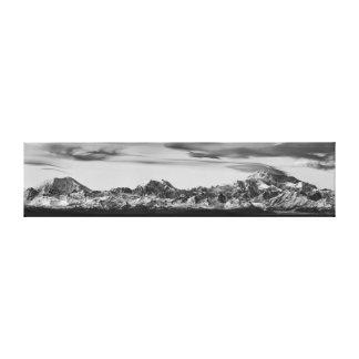 Alaska Range Panorama Canvas Print