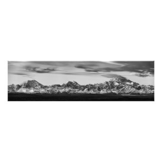Alaska Range Panorama Photo Print