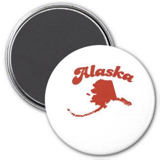 ALASKA Red State Refrigerator Magnets