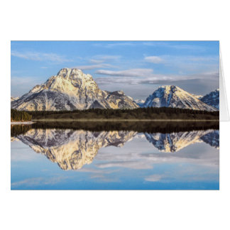 Alaska Reflection Card