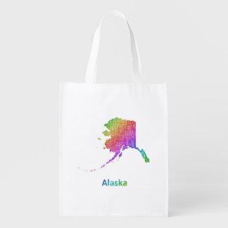 Alaska Reusable Grocery Bag