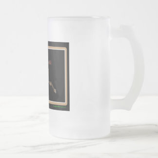 Alaska Rig Up Camo Frosted Glass Beer Mug