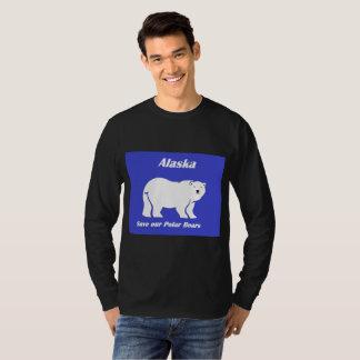 Alaska Save our Polar Bears T-Shirt
