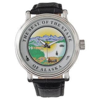 Alaska seal united states america flag symbol repu watch