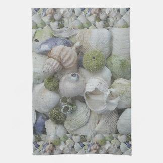 Alaska Seashells Collection Tea Towel