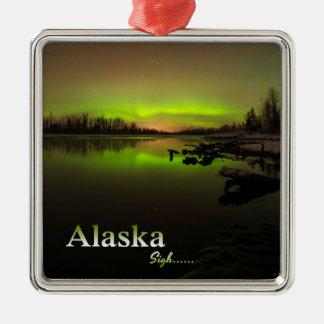 Alaska Sigh.... Metal Ornament