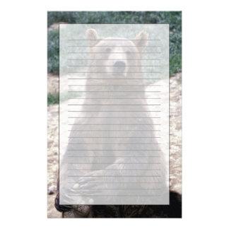 Alaska, southeast region Brown bear Ursus Stationery Design
