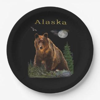 Alaska State merchandise Paper Plate