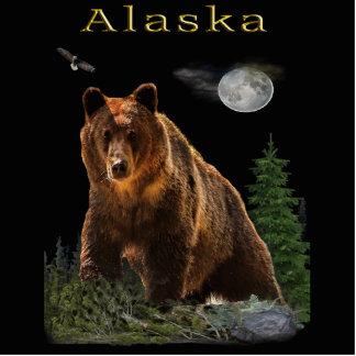 Alaska State merchandise Photo Sculpture Key Ring