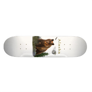 Alaska State merchandise Skate Board