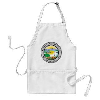 Alaska State seal Apron