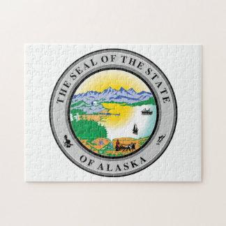 Alaska State Seal. Jigsaw Puzzle
