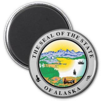 Alaska State Seal Fridge Magnets