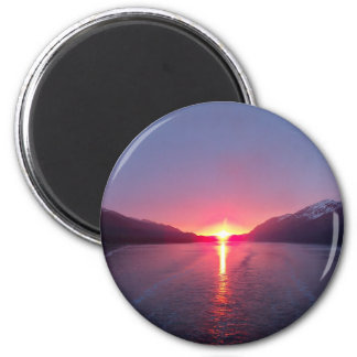 Alaska Sunset Magnet