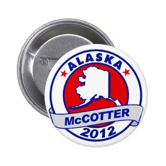Alaska Thad McCotter Pinback Button