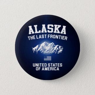 Alaska The Last Frontier 6 Cm Round Badge