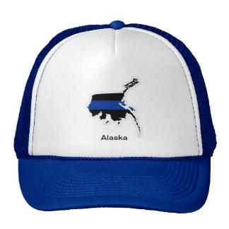 Alaska Thin Blue Line Trucker Hat