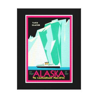 Alaska Travel Canvas Print