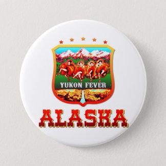 Alaska USA 7.5 Cm Round Badge