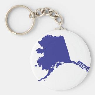Alaska USA Key Ring