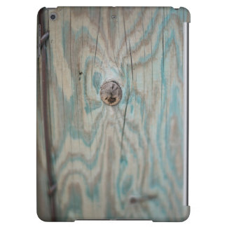 Alaska wooden light pole cover for iPad air
