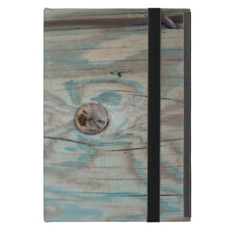 Alaska wooden light pole iPad mini cover