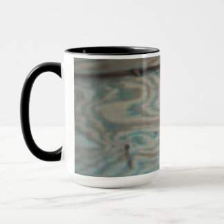 Alaska wooden light pole mug