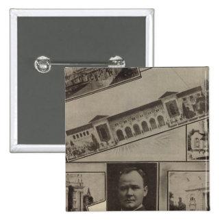 Alaska-Yukon Pacific Exposition, Seattle, 1909 15 Cm Square Badge