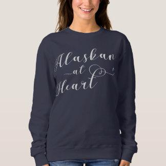 Alaskan At Heart Sweatshirt, Alaska Sweatshirt