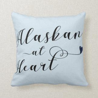 Alaskan At Heart Throw Cushion