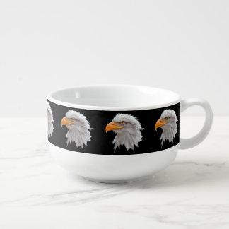 Alaskan Bald Eagle Soup Mug