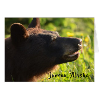 Alaskan Bear Card