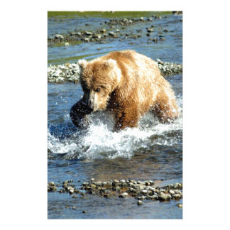 Alaskan Bear Custom Stationery