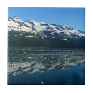 Alaskan Coastline Beautiful Nature Photography Small Square Tile
