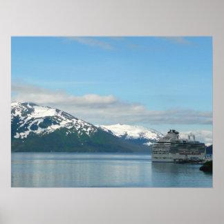 Alaskan Cruise Poster Print
