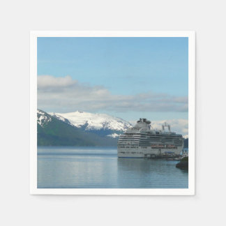 Alaskan Cruise Vacation Travel Photography Paper Napkins